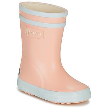 Zapatos Niña Botas de agua Aigle BABY FLAC Rosa