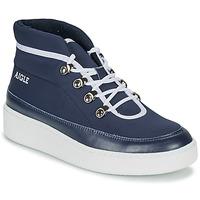 Zapatos Mujer Botas de caña baja Aigle SKILON MID Marino
