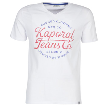 textil Hombre camisetas manga corta Kaporal OBUCE Blanco
