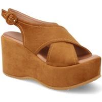 Zapatos Mujer Sandalias Buonarotti 1FF-19168 Camel