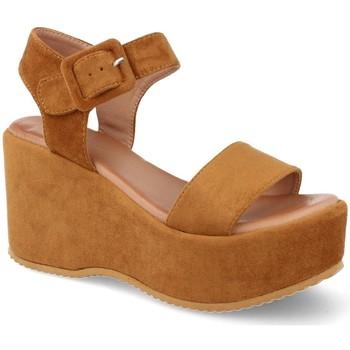 Zapatos Mujer Sandalias Buonarotti 1FF-19196 Camel