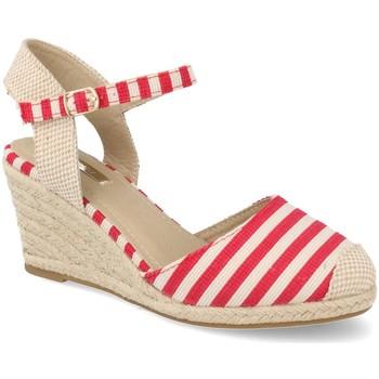 Zapatos Mujer Alpargatas Buonarotti 1JB-19055 Rojo