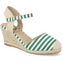 Zapatos Mujer Alpargatas Buonarotti 1JB-19055 Verde