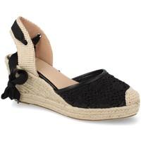 Zapatos Mujer Alpargatas Buonarotti 1JB-19309 Negro