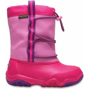 Zapatos Niña Botas de nieve Crocs™ Crocs™ Swiftwater Waterproof Boot Kid's 13