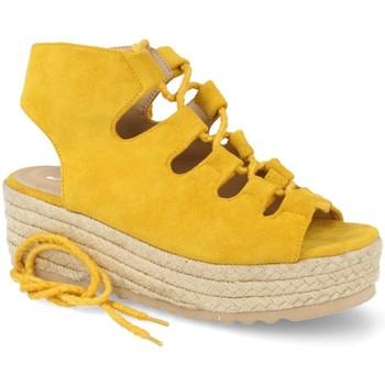 Zapatos Mujer Alpargatas Festissimo D8520 Amarillo