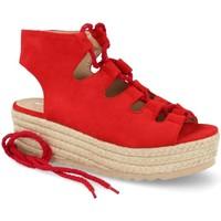 Zapatos Mujer Alpargatas Festissimo D8520 Rojo