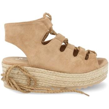 Zapatos Mujer Alpargatas Festissimo D8520 Taupe
