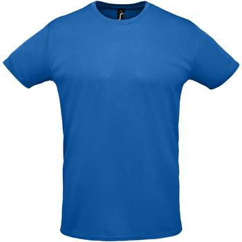 textil Hombre camisetas manga corta Sols SPRINT SPORTS Azul