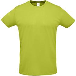 textil Hombre camisetas manga corta Sols SPRINT Verde