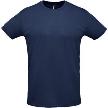 textil Hombre camisetas manga corta Sols SPRINT Azul