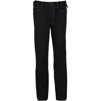 textil Hombre pantalones chinos Sols SPEED PRO MULTI WORK Negro