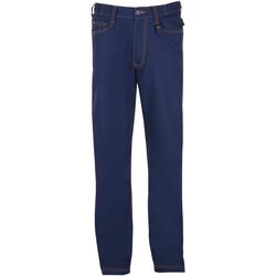 textil Hombre pantalones con 5 bolsillos Sols SPEED PRO MULTI WORK Azul