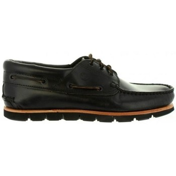 Zapatos Hombre Mocasín Timberland ICON 3 EYE PADDED COLLAR NEGRO TB0A1MWS0011 NEGRO