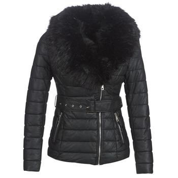 textil Mujer plumas Moony Mood LOUVE Negro