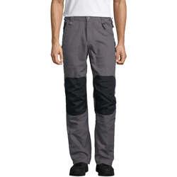 textil Hombre pantalones con 5 bolsillos Sols METAL PRO MULTI WORK Multicolor