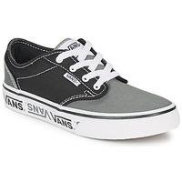 Zapatos Niños Zapatillas bajas Vans YT ATWOOD NR Negro