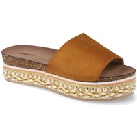 Zapatos Mujer Chanclas Buonarotti 1AD-19127 Camel