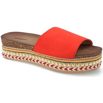 Zapatos Mujer Chanclas Buonarotti 1AD-19127 Rojo
