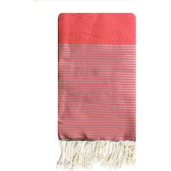 textil Mujer Pareos Traditions Med ZIWANE ND FLUO ROSE Rosa