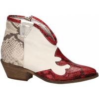 Zapatos Mujer Botines Le Pure  bianco-roccia-rosso