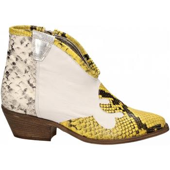 Zapatos Mujer Botines Le Pure  bianco-roccia-giallo