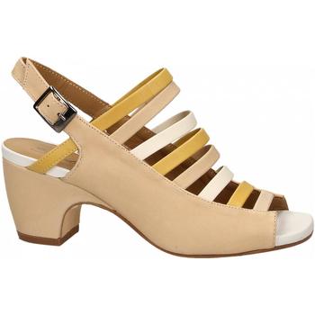 Zapatos Mujer Sandalias Salvador Ribes MAGGY NUVOLA avorio-ginestra-bian