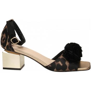 Zapatos Mujer Sandalias Jeannot SCARPE D platino---nero