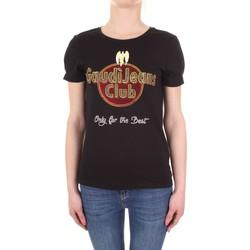 textil Mujer camisetas manga corta Gaudi 911BD64039 negro
