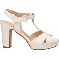 Zapatos Mujer Sandalias Les Venues NAPPA bianco