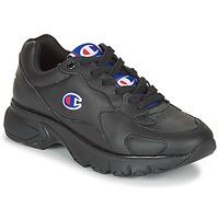 Zapatos Mujer Zapatillas bajas Champion CWA-1 LEATHER Negro