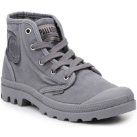 Zapatos Hombre Zapatillas altas Palladium Lifestyle shoes  US Pampa Hi Titanium 92352-011-M gris