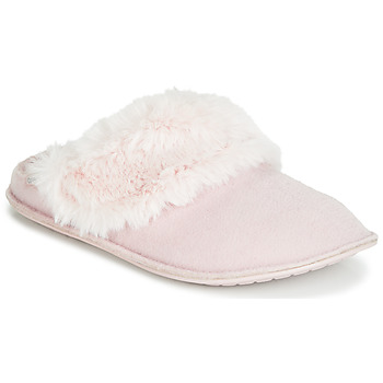 Zapatos Mujer Pantuflas Crocs CLASSIC LUXE SLIPPER Rosa