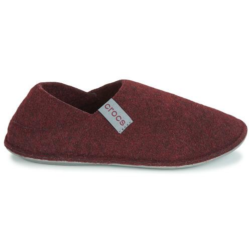 Pantuflas Crocs Convertible Slipper BurdeoGris Classic Zapatos Tul15KJ3Fc