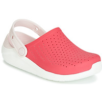 Zapatos Niña Zuecos (Clogs) Crocs LITERIDE CLOG K Rojo / Blanco