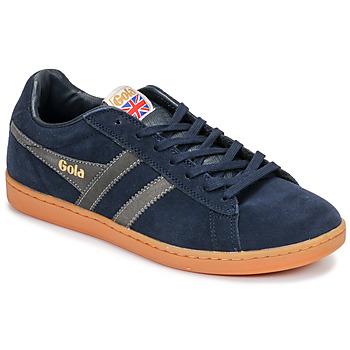 Zapatos Hombre Zapatillas bajas Gola EQUIPE SUEDE Azul / Blanco