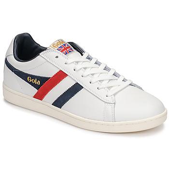 Zapatos Hombre Zapatillas bajas Gola EQUIPE Blanco / Azul / Rojo