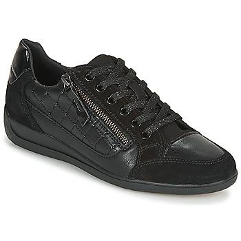 Zapatos Mujer Zapatillas bajas Geox D MYRIA A Negro