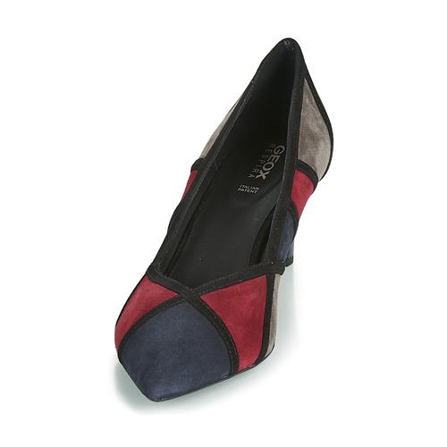 Mujer Zapatos D Bibbiana Tacón Geox Marino De nO8wkP0