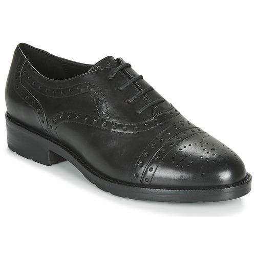 Geox D BETTANIE Negro - Envío gratis   ! - Zapatos Derbie Mujer