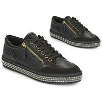 Zapatos Mujer Zapatillas bajas Geox D LEELU' Negro