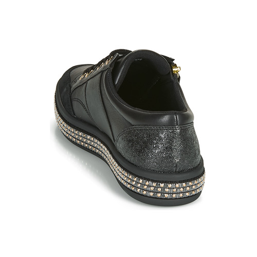 Mujer Bajas Negro Zapatillas Leelu' Geox D Zapatos UGSzjVpqML