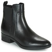 Zapatos Mujer Botas de caña baja Geox FELICITY Negro