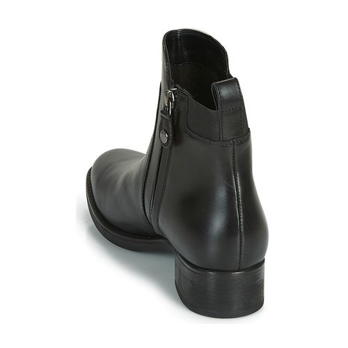 Zapatos Baja Mujer Botas Felicity De Geox D Negro Caña dhQxtsrCB