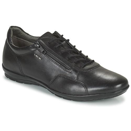 Zapatos Hombre Derbie Geox UOMO SYMBOL Negro