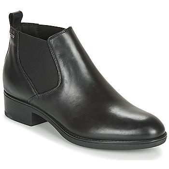 Zapatos Mujer Botas de caña baja Geox D FELICITY NP ABX C Negro