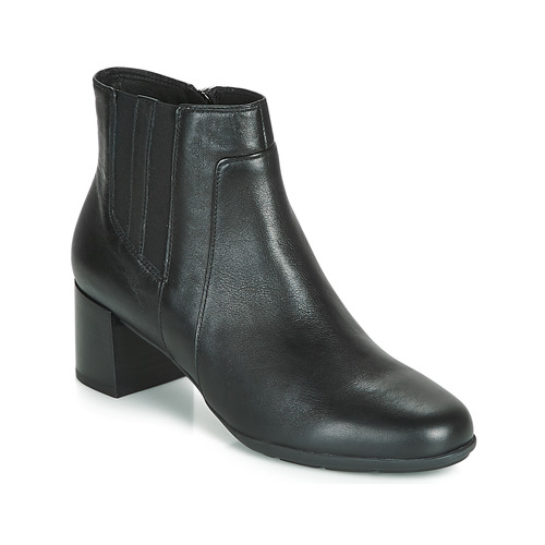 Zapatos Mujer Botines Geox D NEW ANNYA MID Negro