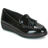 Zapatos Mujer Mocasín FitFlop PETRINA MOCASSIN Negro