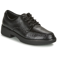 Zapatos Mujer Derbie FitFlop KEELY MICROSTUD BROGUES Negro