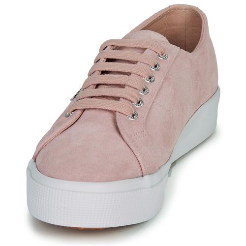 Superga 2730 Sueu Rosa - Envío Gratis Zapatos Deportivas Bajas Mujer 79